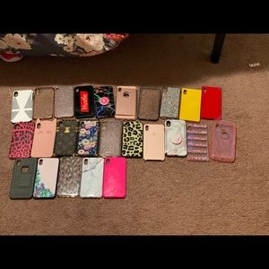 Several phone cases for sale !
